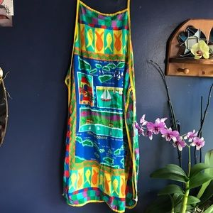 tropical apron